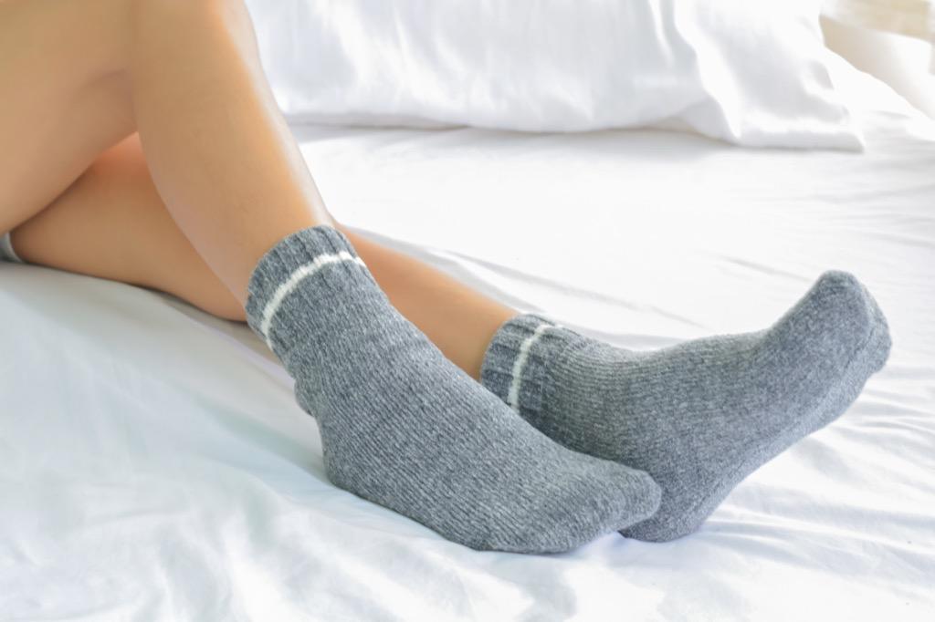 socks how to fall asleep
