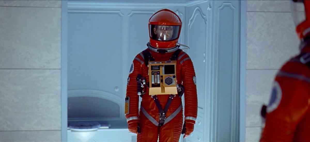 last scene in 2001 a space odyssey, movie endings