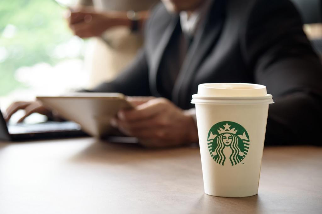 Starbucks coffee Pay it Forward Stories
