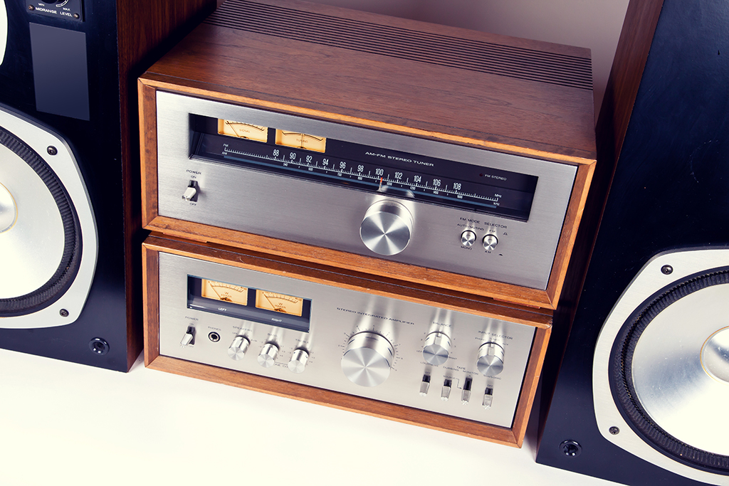 stereo, over 40