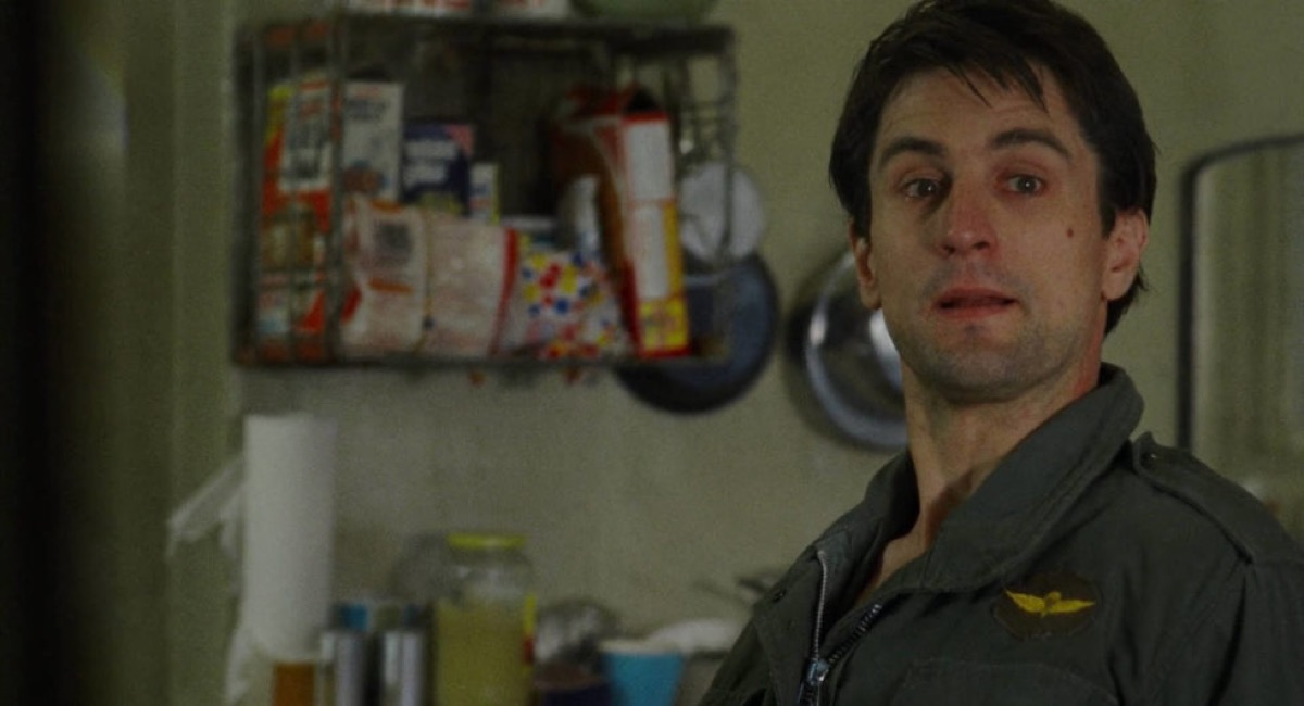 last scene in the taxi driver, movie endings