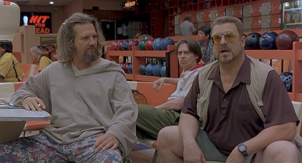 The Big Lebowski Walter Sobchak, funniest movie characters