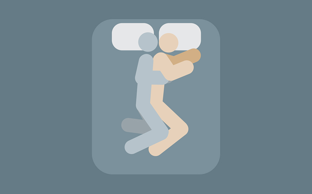 spooning, sex position astrology