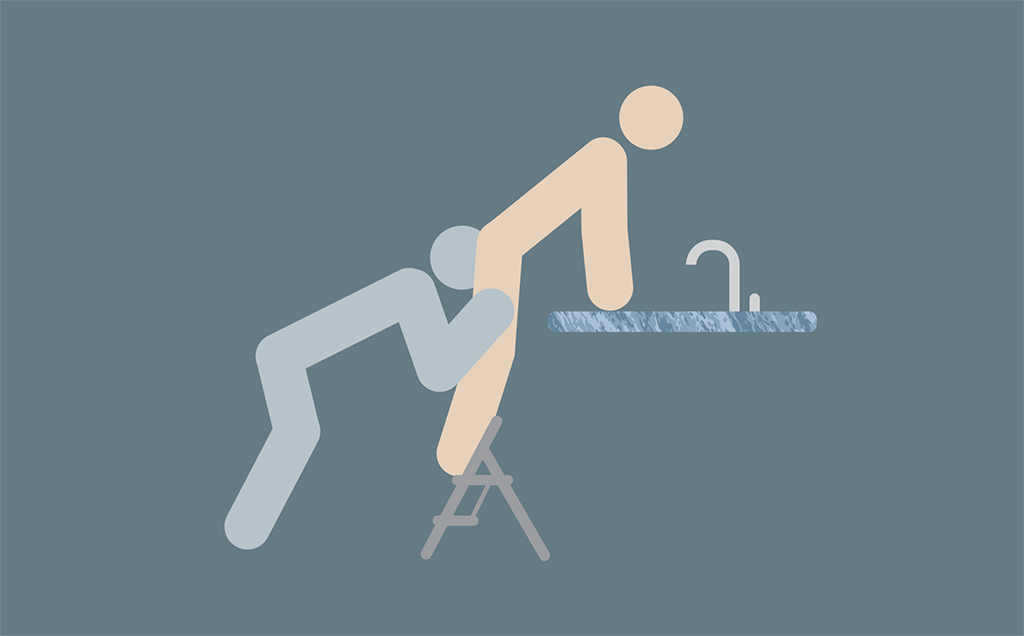 the stepladder sex positions