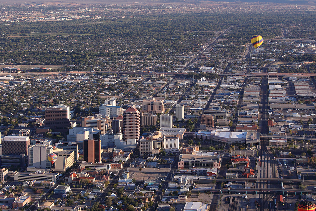 Albuquerque, worst cities to drive in