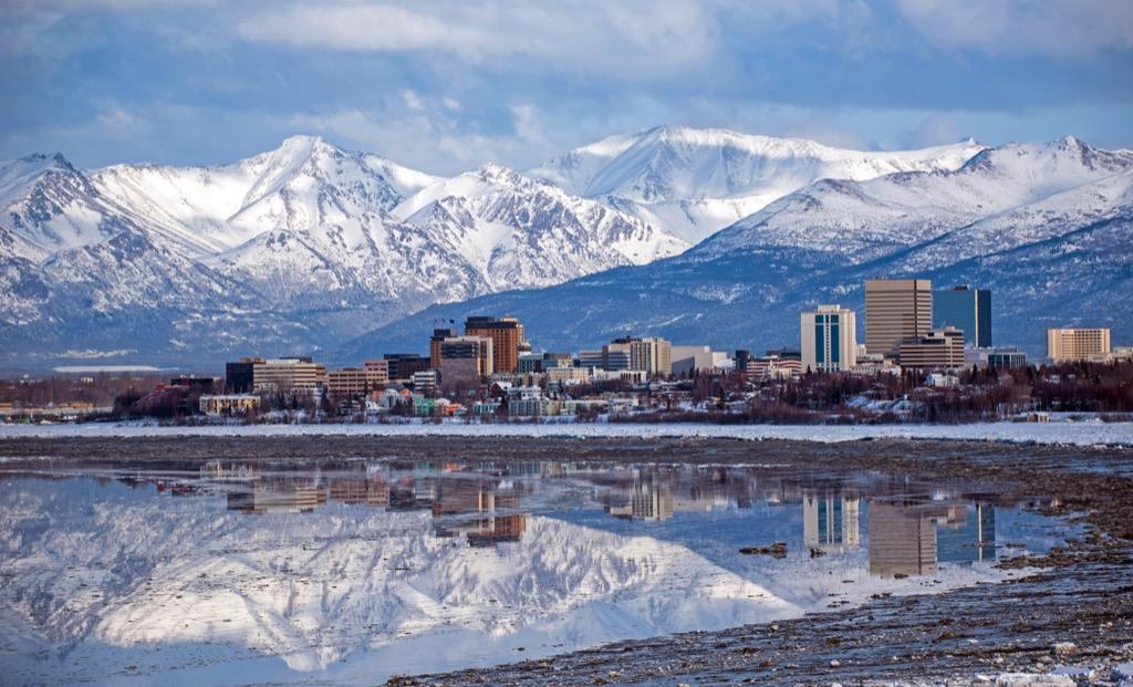 Anchorage, drunkest cities, happiest cities