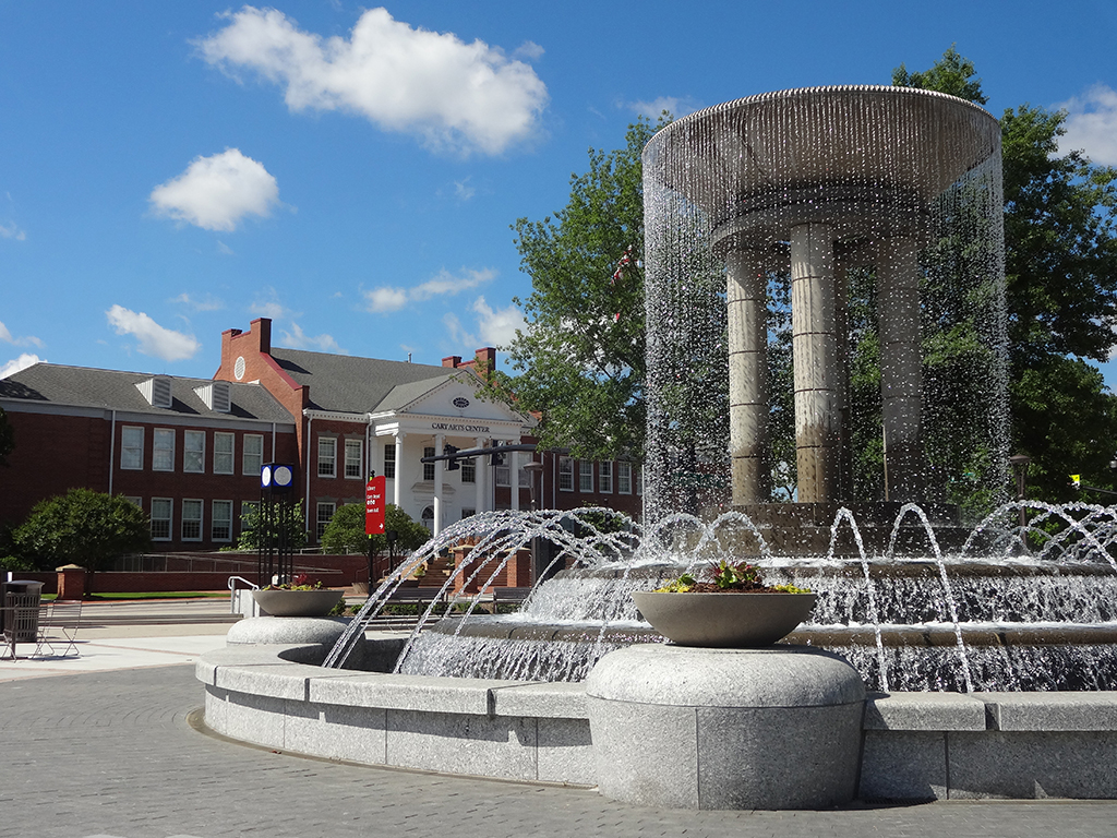 Cary, longest-living cities, fountain, singles scenes, best cities to buy a mansion