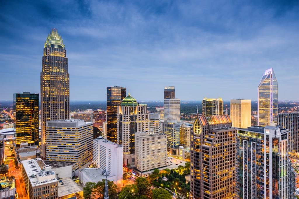 Charlotte, happiest cities, longest-living cities, healthiest cities