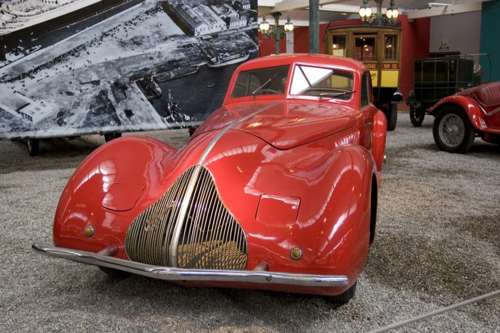 Car museums, Cité de l'Automobile, Musée national de l'automobile
