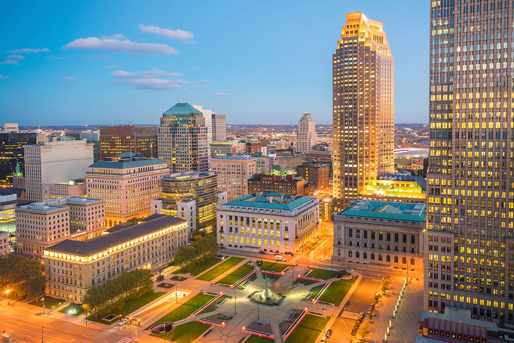 Cleveland, Ohio, drunkest cities, best singles scenes