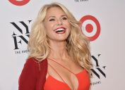 Photo by Mike Coppola/Getty Images christie brinkley cleavage