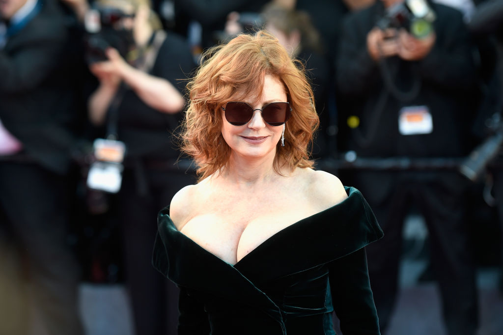 Photo by Antony Jones/Getty Images susan sarandon cleavage