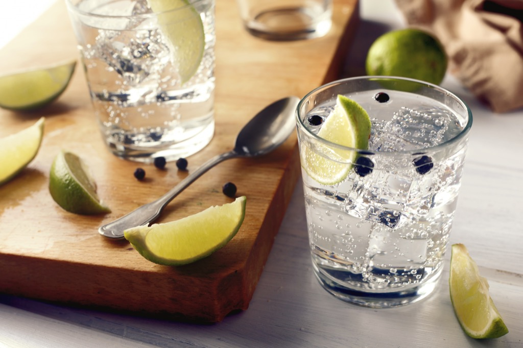 Gin and Tonic, cocktails