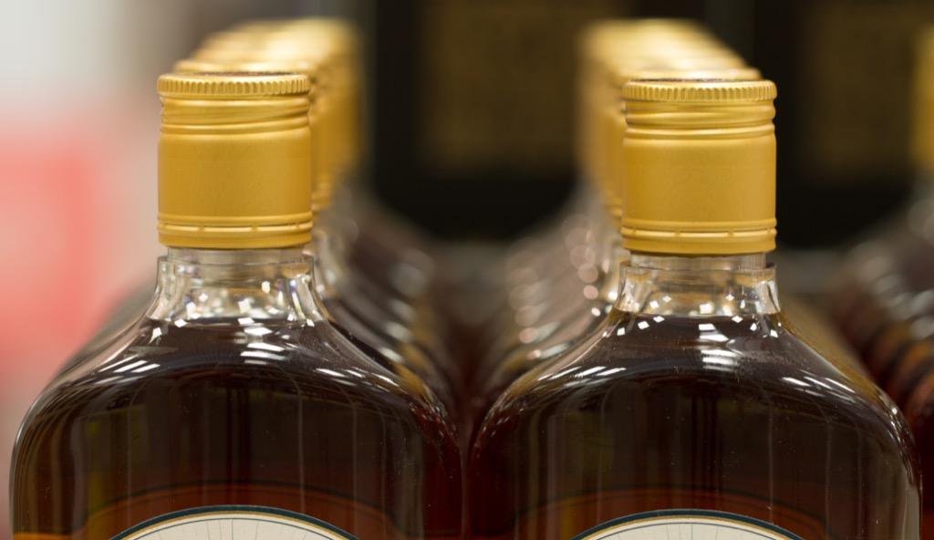 Alcohol in Plastic Bottles, 40s