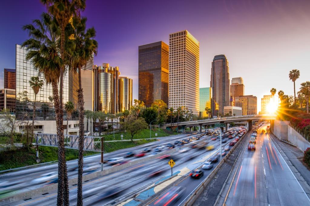 Los Angeles, happiest cities, best singles scenes