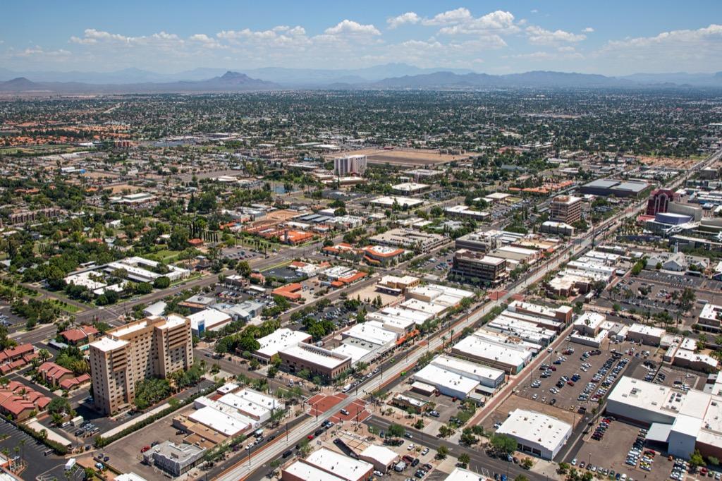 Mesa, happiest cities, worst singles scenes, rent, property