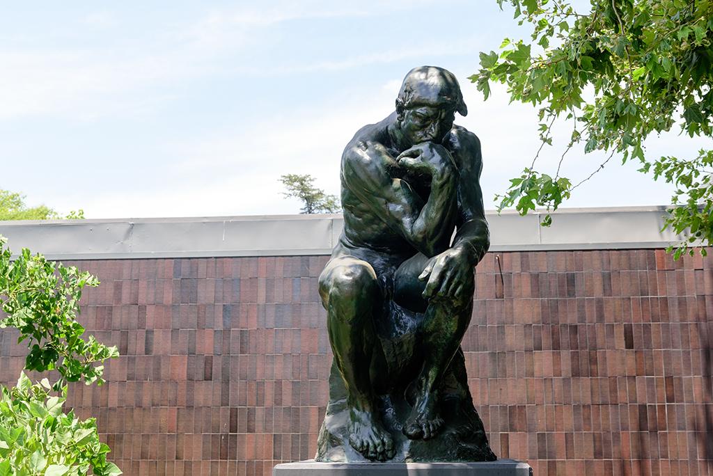 Pasadena, The Thinker, Rodin, best singles scenes
