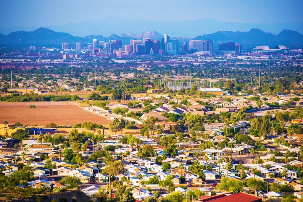 Phoenix, happiest cities, best cities to buy a mansion, flip a house, rent, property, best job opportunities, sleepless cities