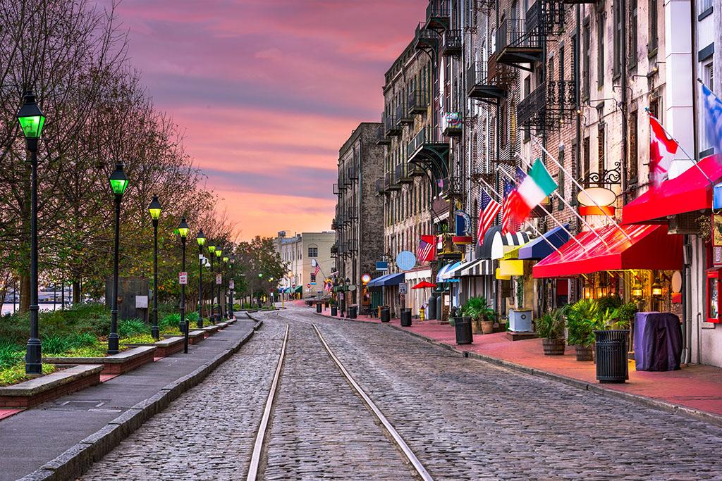 Savannah, drunkest cities, best singles scenes