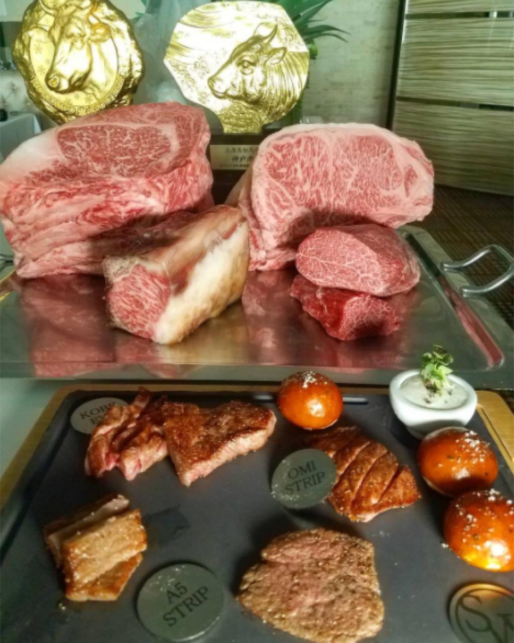 sw steakhouse kobe beef