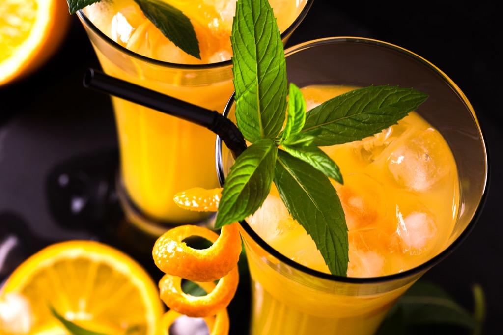 Screwdriver, cocktails