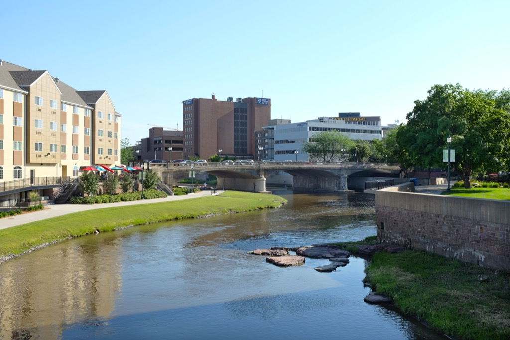 Sioux Falls, happiest cities, drunkest cities, longest-living cities, healthiest cities, best singles scenes