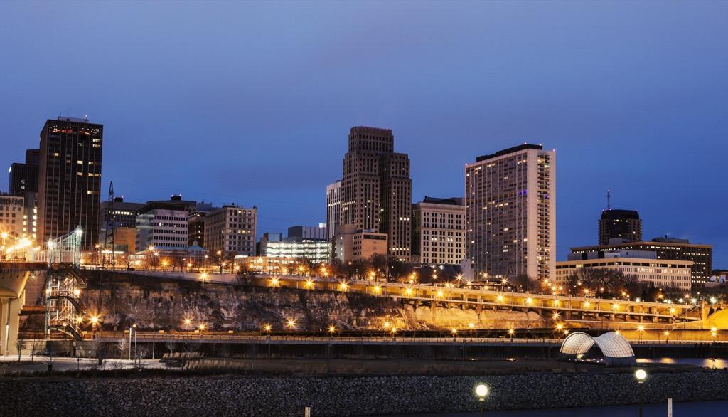 St. Paul, happiest cities