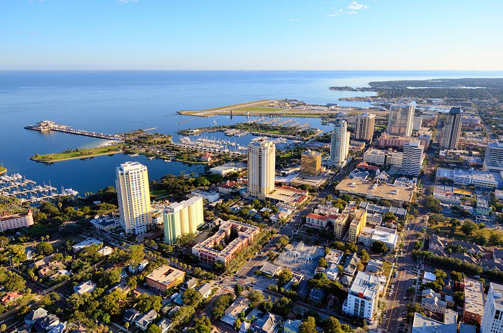 St. Petersburg, Florida, drunkest cities, longest-living cities, tax friendly cities