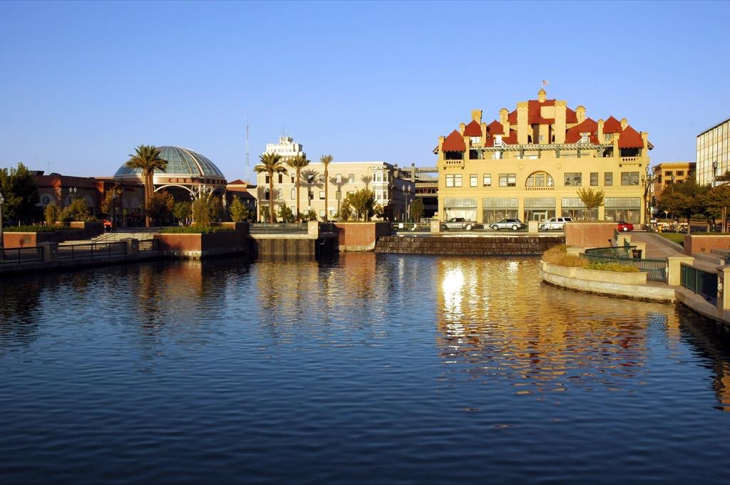 Stockton, happiest cities