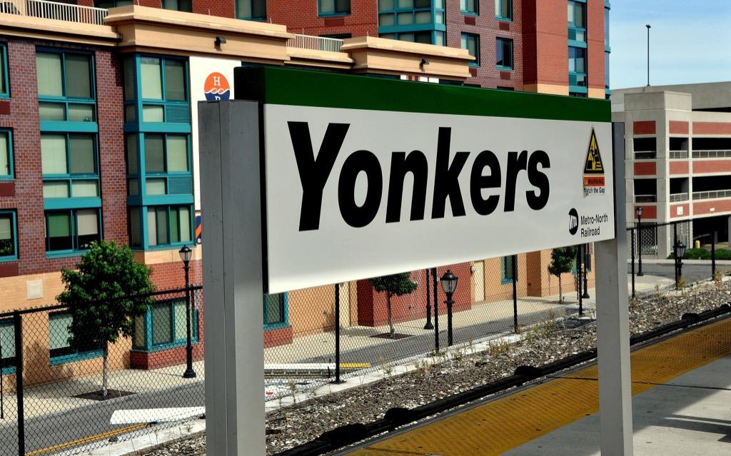 Yonkers, happiest cities