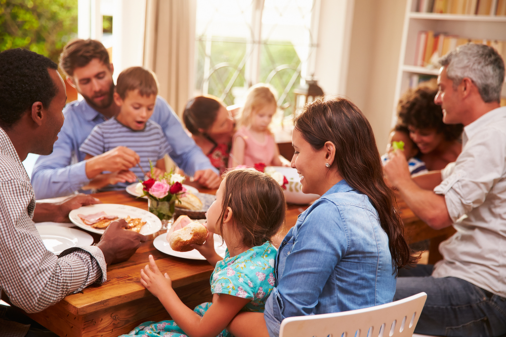 Family Dinner Workplace Stress-Busters