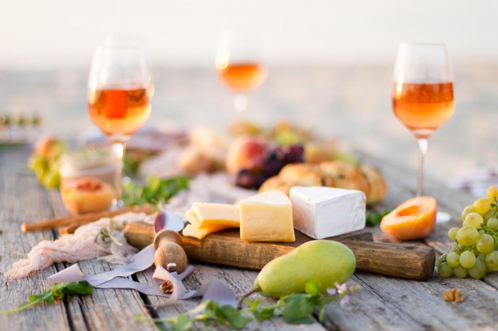 bread cheese wine pears geniuses