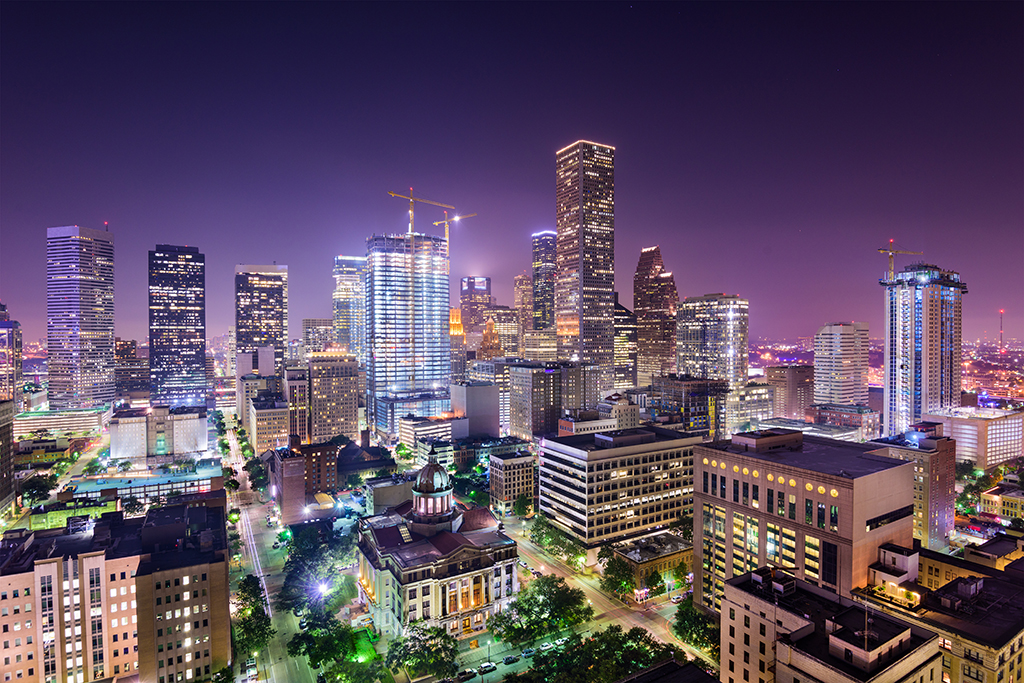 Houston, cleanest cities in the world