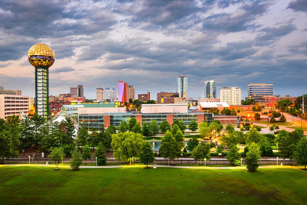 Knoxville, fattest cities, drunkest cities, longest-living cities, best singles scenes