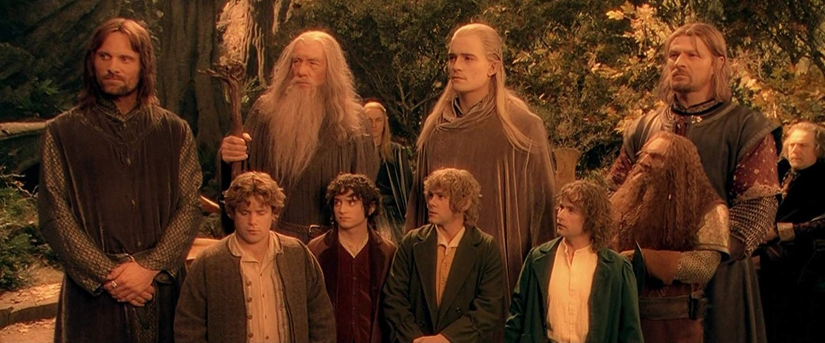 movie scene from lord of the rings, movie quotes