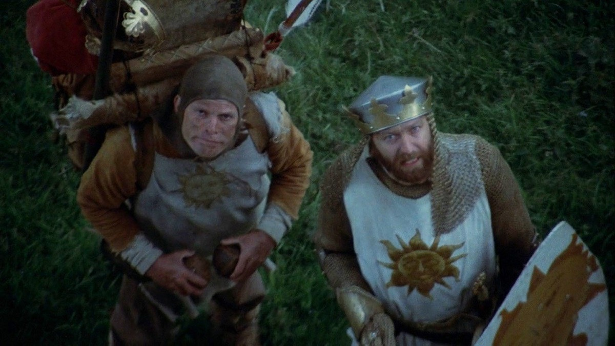 movie scene from monty python and the holy grail, movie quotes