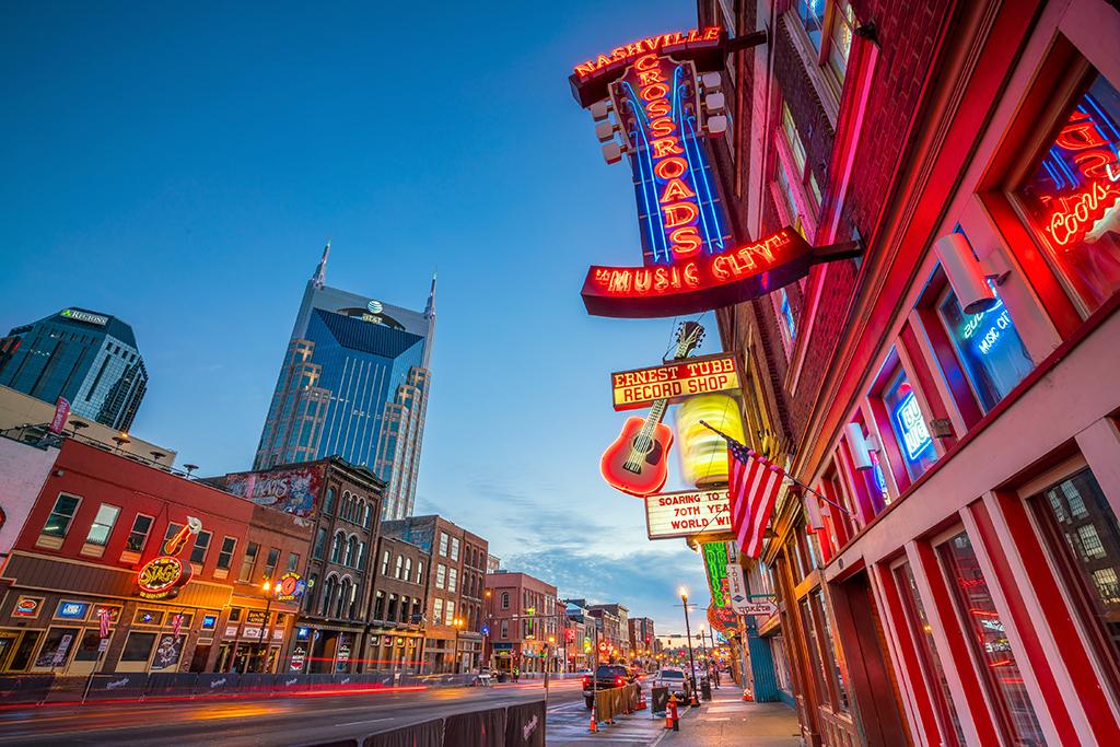 Nashville, happiest cities, fattest cities, longest-living cities, best singles scenes