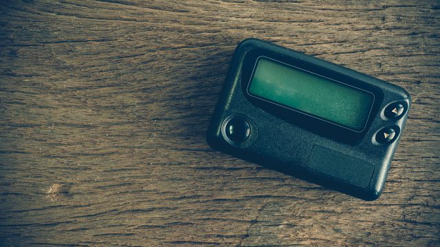 obsolete beeper, pager, things only 90s kids will remember
