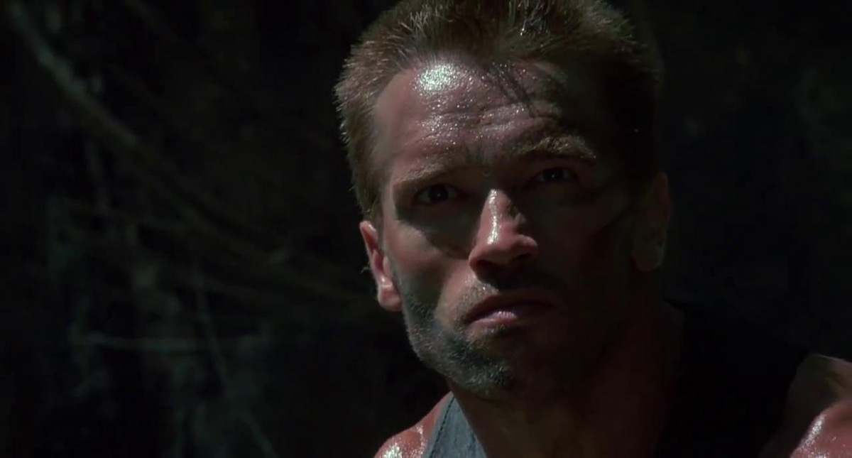 movie scene from the predator, movie quotes