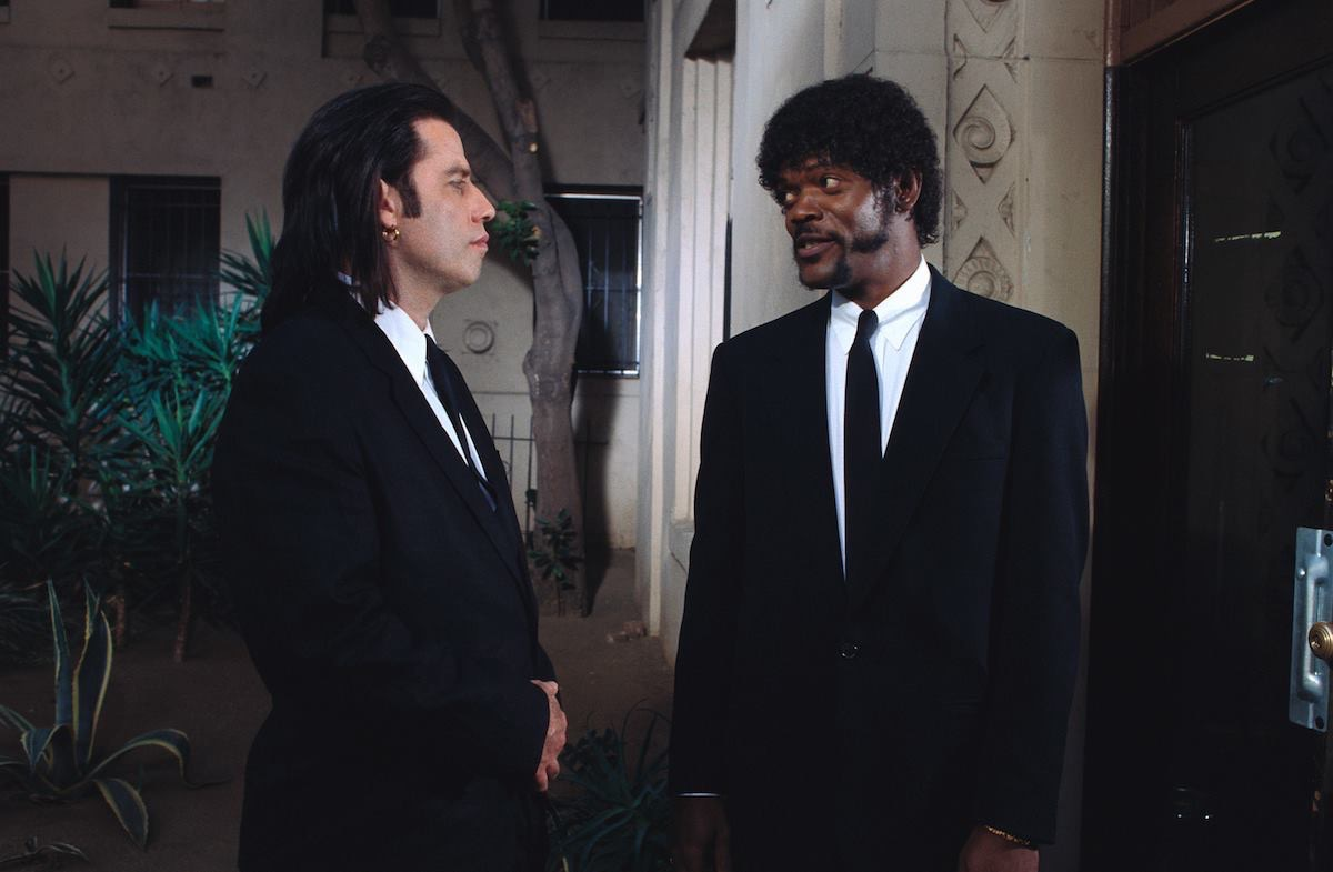 movie scene from pulp fiction, movie quotes