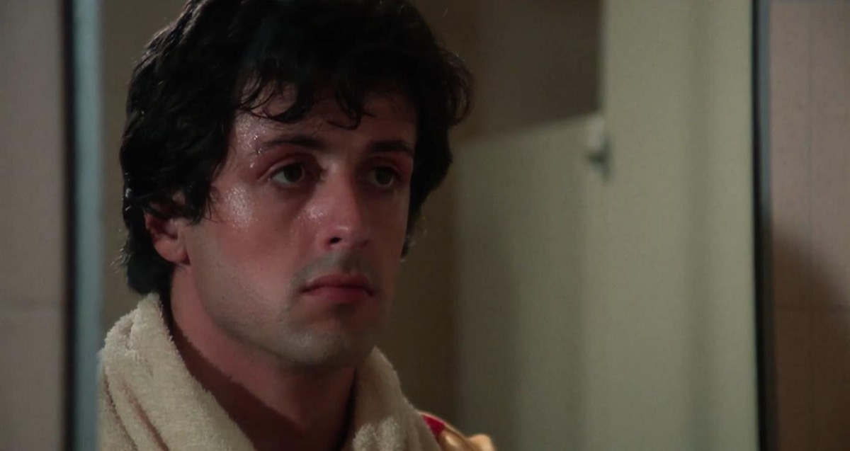 """Sylvester Stallone in """"Rocky"""""""