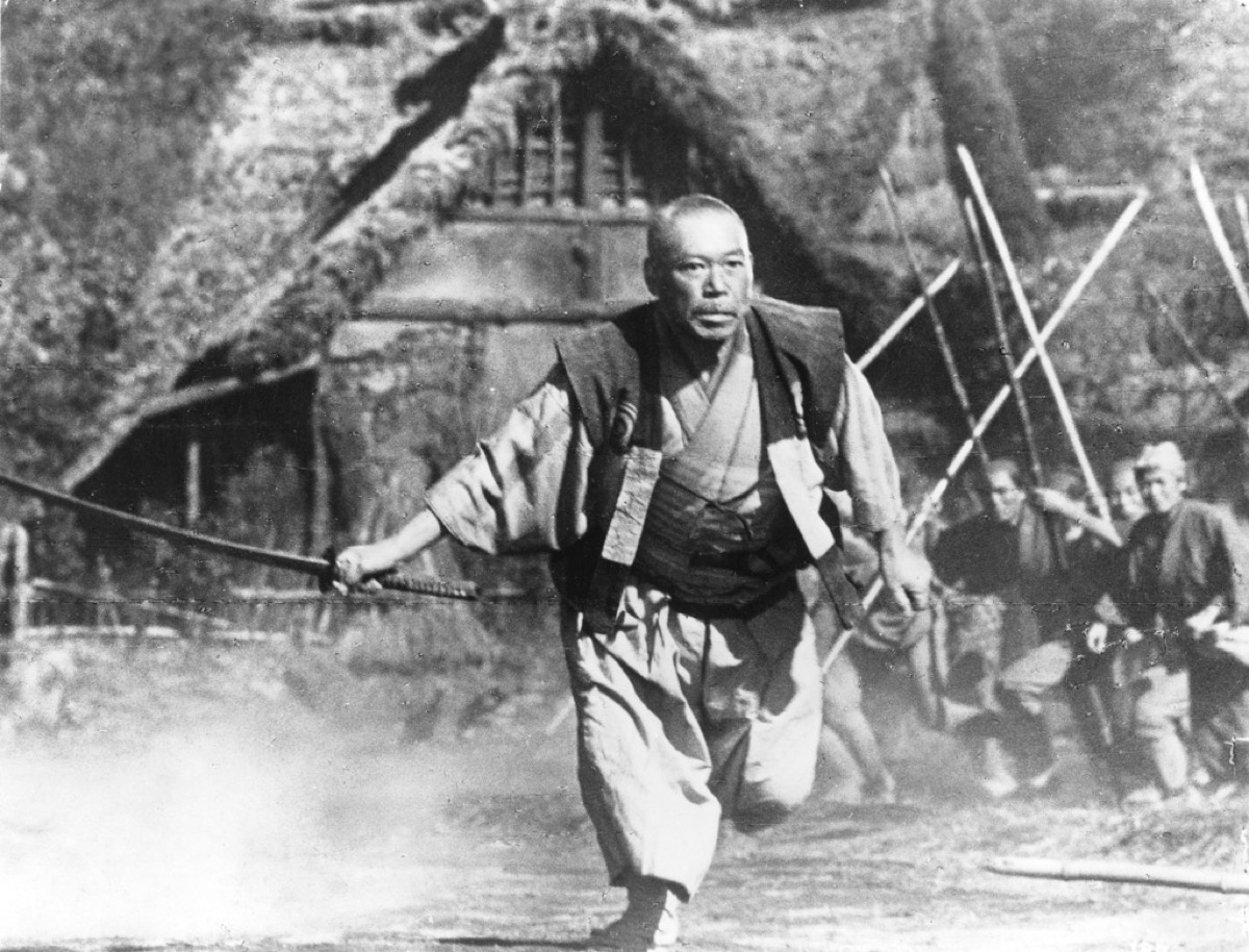 movie scene from seven samurai, movie quotes