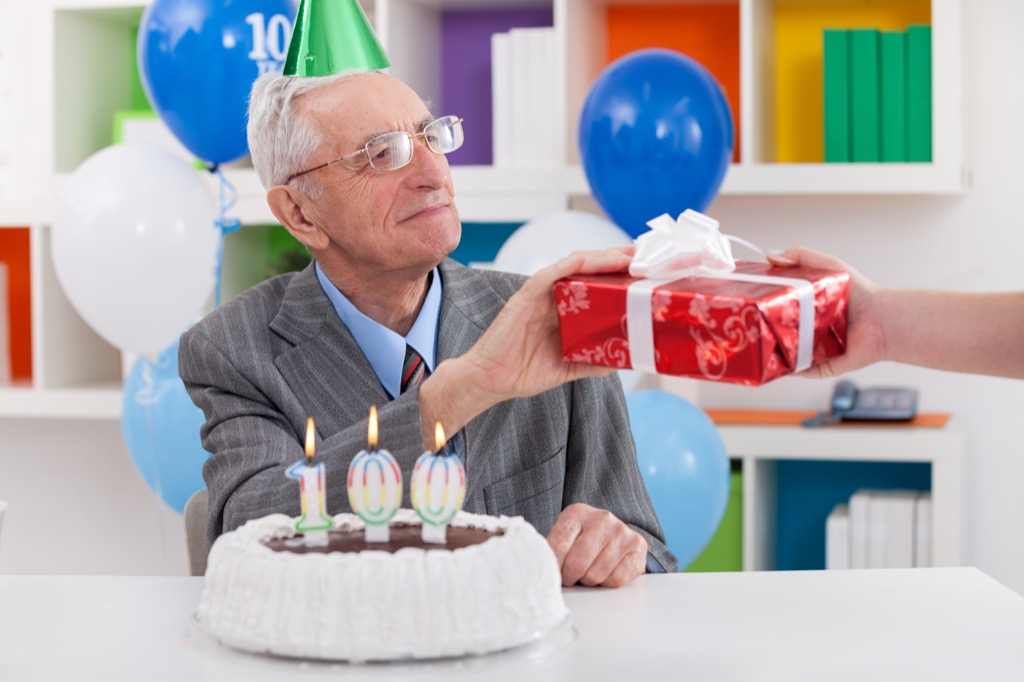 100-Year-Old man, centenarian, scandalous