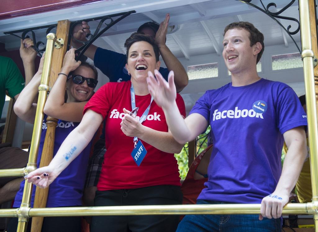 mark zuckerberg president facebook