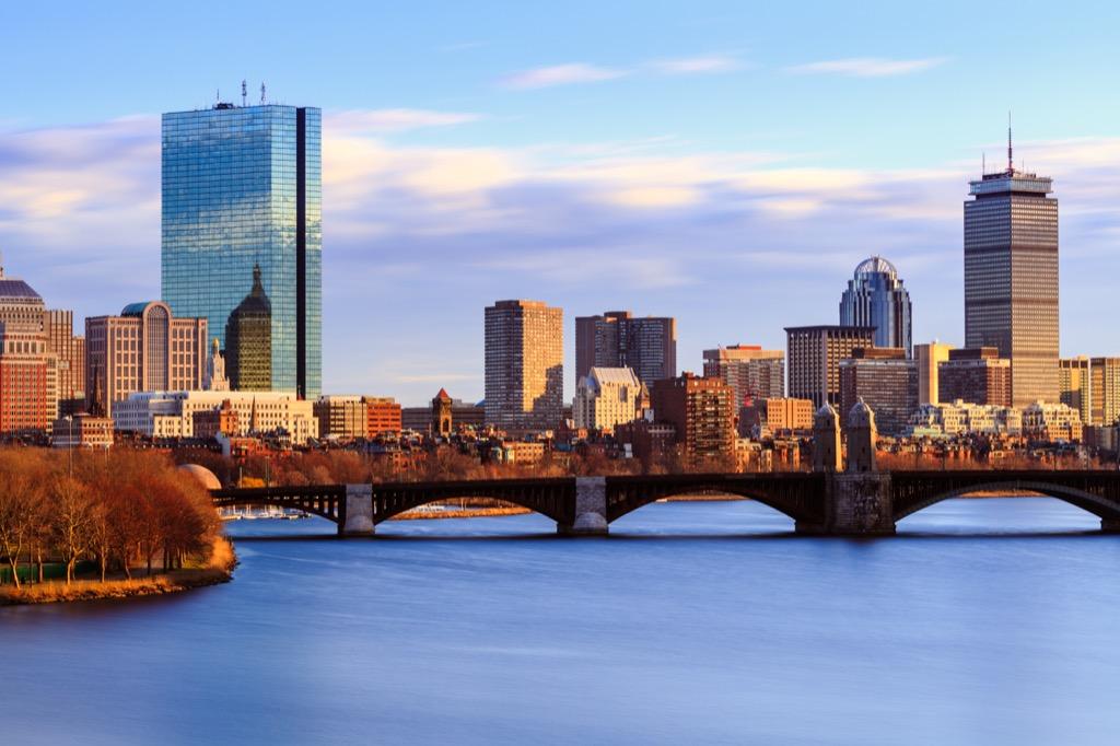 Boston, fittest cities, drunkest cities, longest-living cities, healthiest cities, best singles scenes