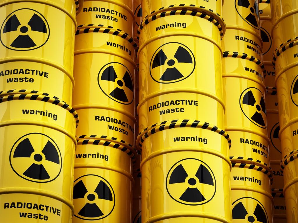 Radiation, Radioactive waste, scandalous