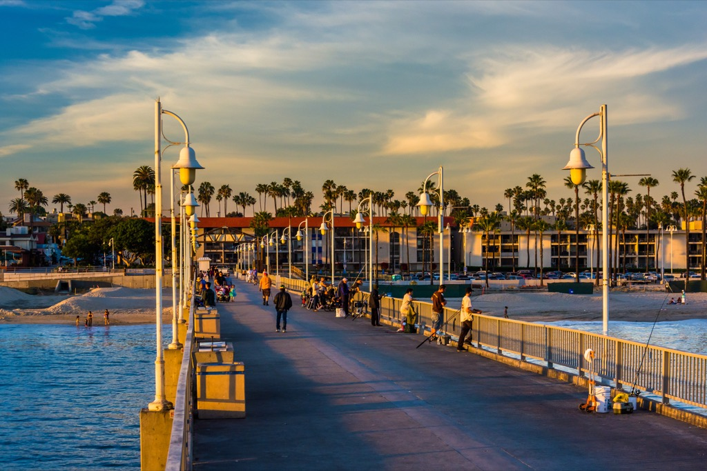 Long Beach, happiest cities, fittest cities, healthiest cities
