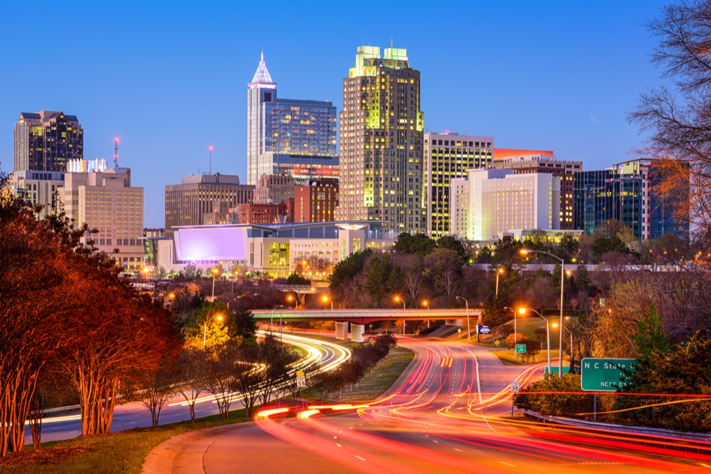 Raleigh, happiest cities, drunkest cities, fittest cities, longest-living cities, healthiest cities, best cities to buy a mansion, flip a house, property, best job opportunities