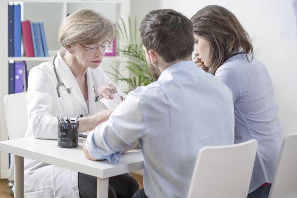 couple doctors office doctor partner - gynecologist secrets