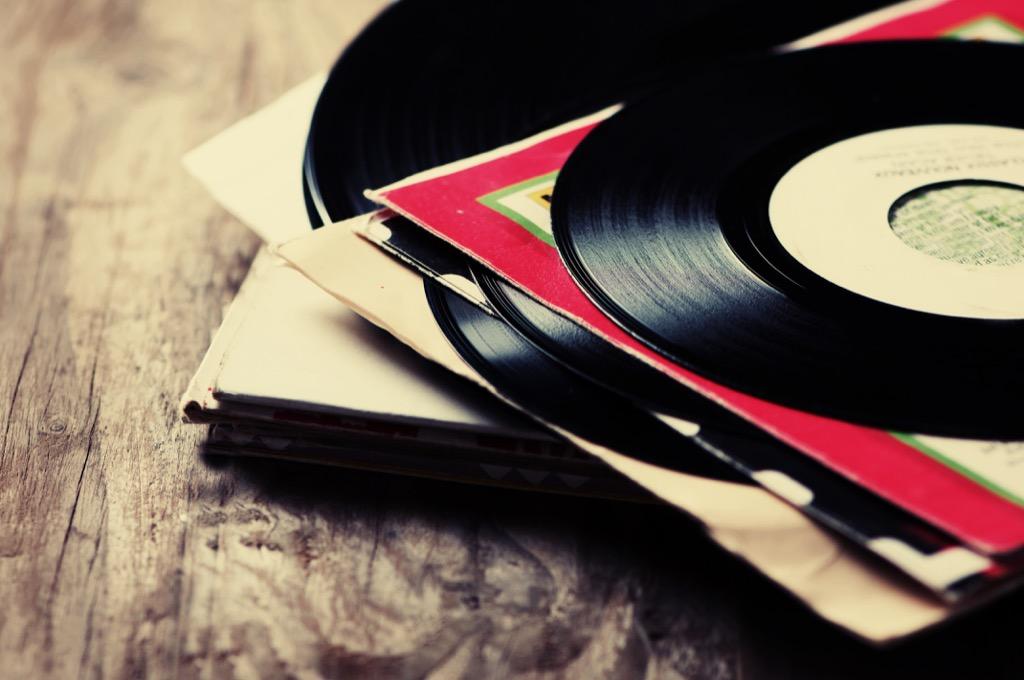 Vinyl, secondhand
